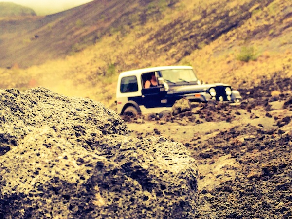 Off-road expeditions to the Caldera of the volcano Batur